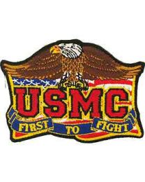 First to Fight USMC Patch