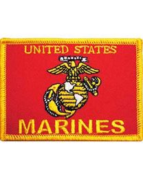 US Marine Flag Patch