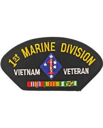 Hat Patch 1st Marine Div Vietnam