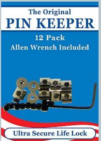 12 Pin Keepers w Wrench