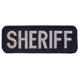PATCH TAB SHERIFF