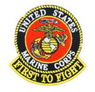 USMC First to Fight Patch