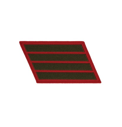 Service Stripes 4 Green/Red