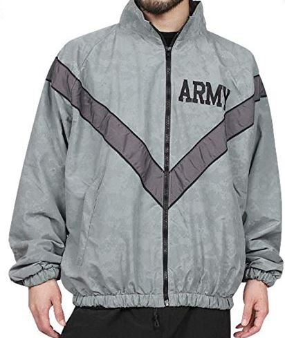 Army Jogging Jacket - Reflective