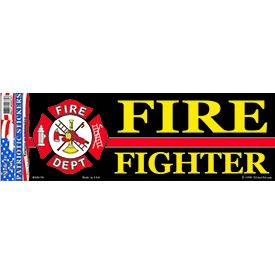 Fire Fighter Bumper Sticker