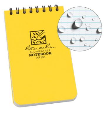 Rite in the Rain Top Spiral Notebook