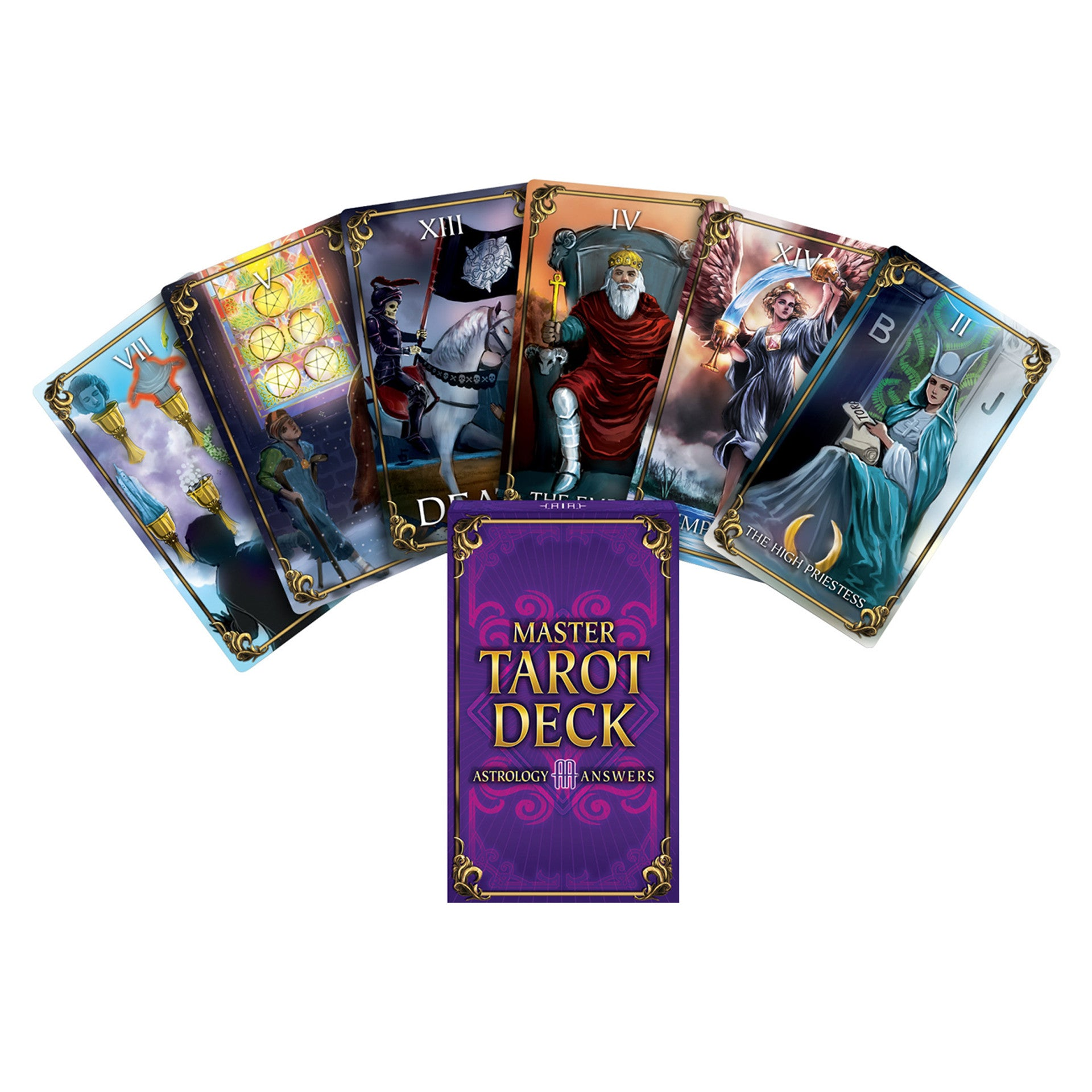 Master Tarot Deck - Ships Within 24 Hours.