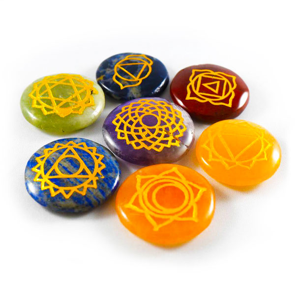 Reiki Stone Set - Ships Within 24 Hours.