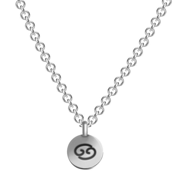 Silver Plated Zodiac Necklace