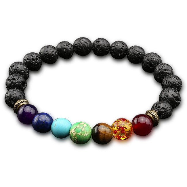 Chakra Bead Bracelet - Ships Within 24 Hours.