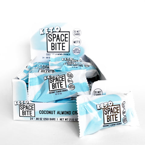 93. SPACE BITE (Coconut Almond Crunch)  24 PACK