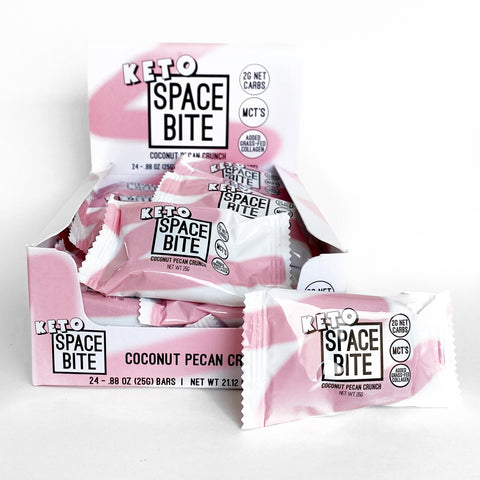 91. SPACE BITE  (Coconut Pecan Crunch) 24 PACK