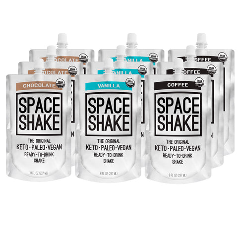 CAVE SHAKES, SPACE SHAKES- KETO MEAL REPLACEMENT AND DESSERT, stay in ketosis with this delicious ready-to-drink shake, that helps you burn fat for fuel.
