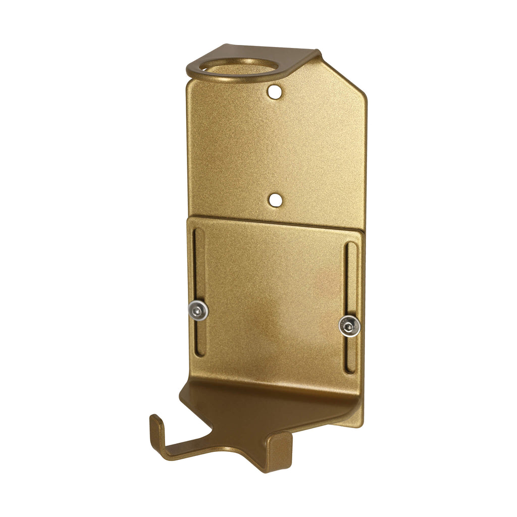 Single Security Wall-Mounted Holder (300ml Gold)