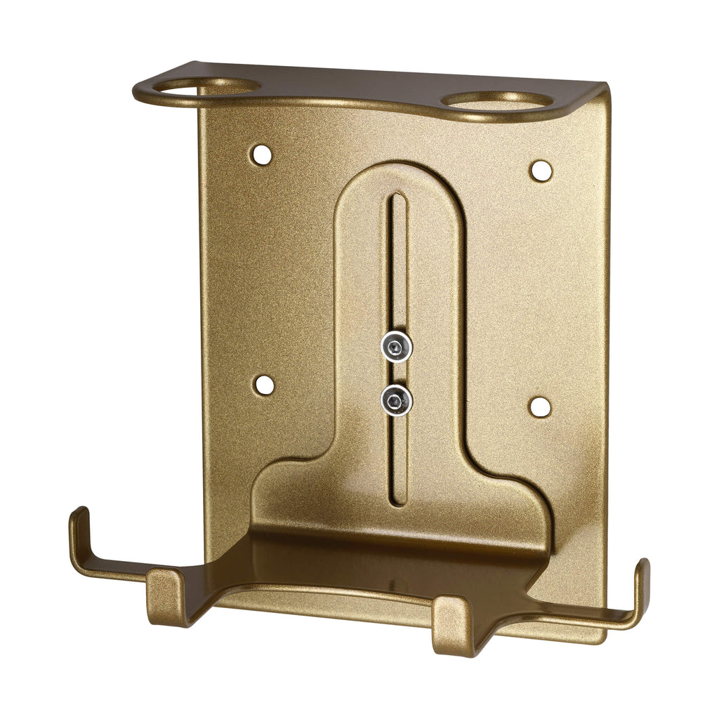 Double Security Wall-Mounted Holder (300ml Gold)