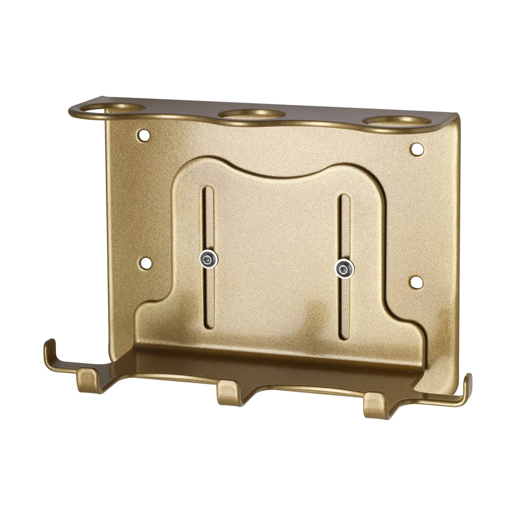Triple Security Wall-Mounted Holder (300ml Gold)