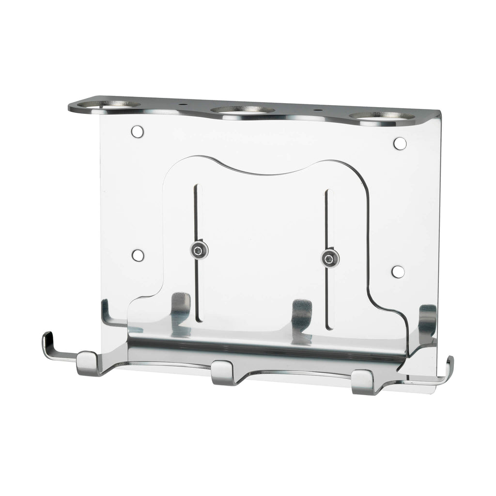 Triple 500ml Security Wall-Mounted Holder - Hand Polished