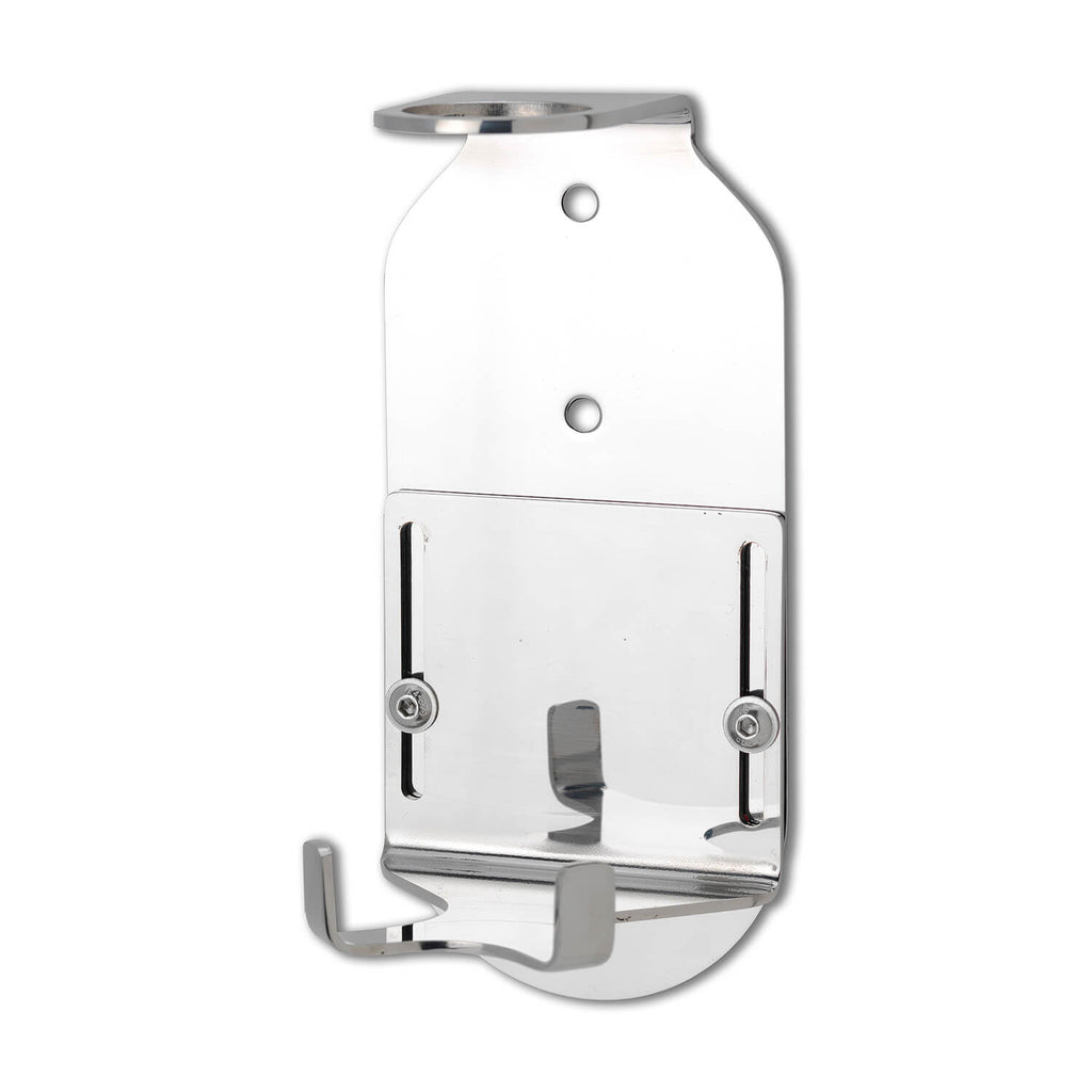 Single 500ml Security Wall-Mounted Holder - Hand Polished