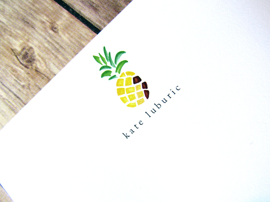 Pineapple Stationery