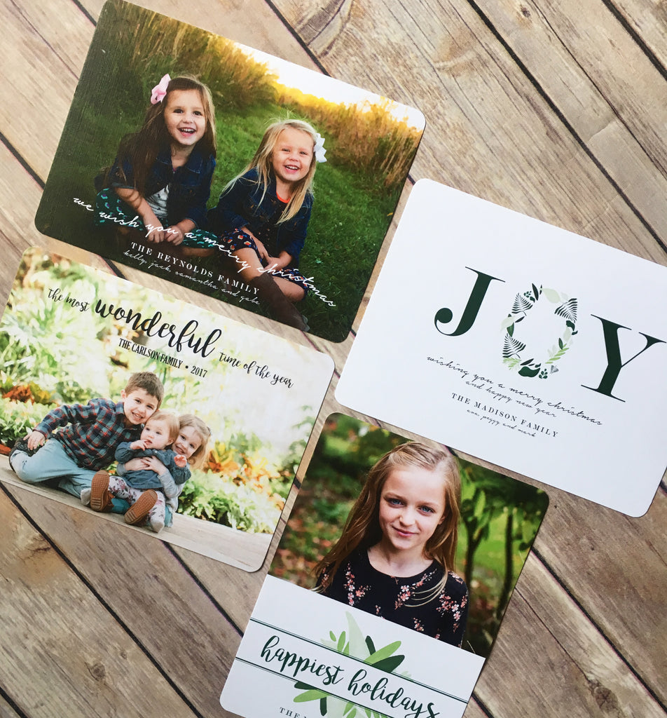 Return Address Labels for Holiday Cards