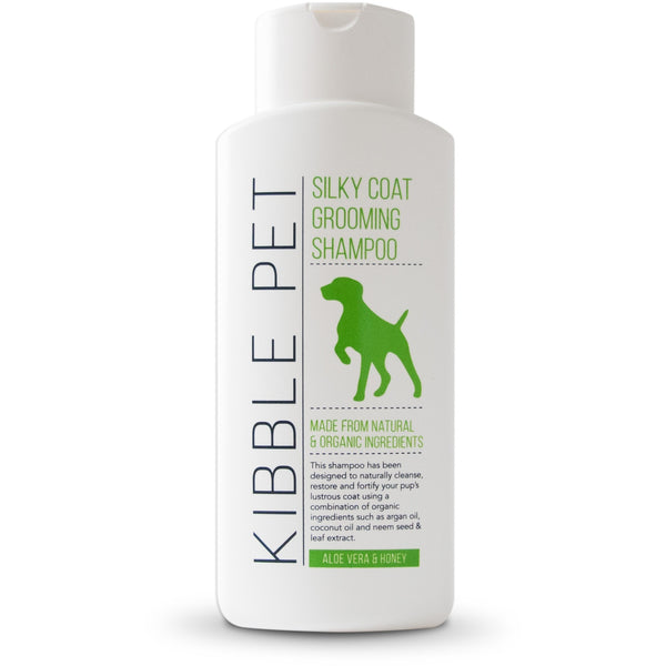 Silky Coat Grooming Shampoo - Aloe Vera & Honey
