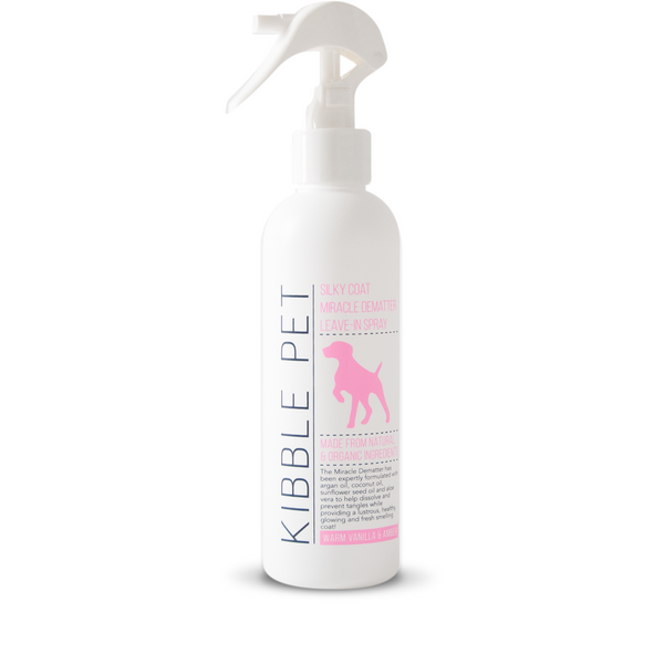 Silky Coat Miracle Dematter Leave-in Spray - Warm Vanilla & Amber