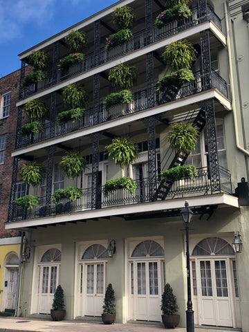 new orleans, french quarter, balcony gardens