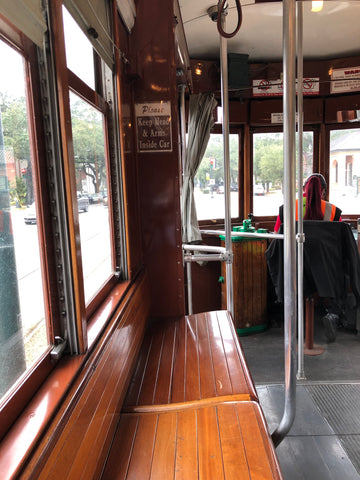 trolley streetcar new orleans