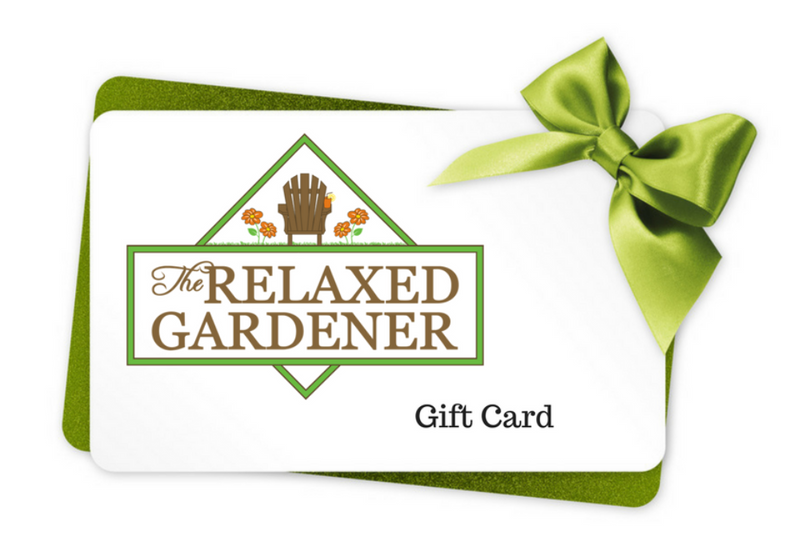 The Relaxed Gardener Gift Card