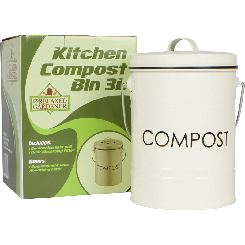 Kitchen Compost Bin (0.8 Gallon)