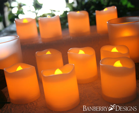 LED Candles and Candle Holders