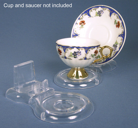 Acrylic Cup and Saucer Stand(1339)