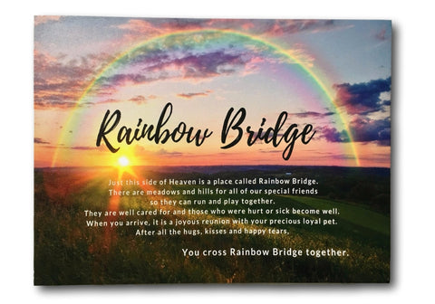 Rainbow Bridge Poem for Dogs