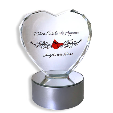 Light up LED Memorial Heart