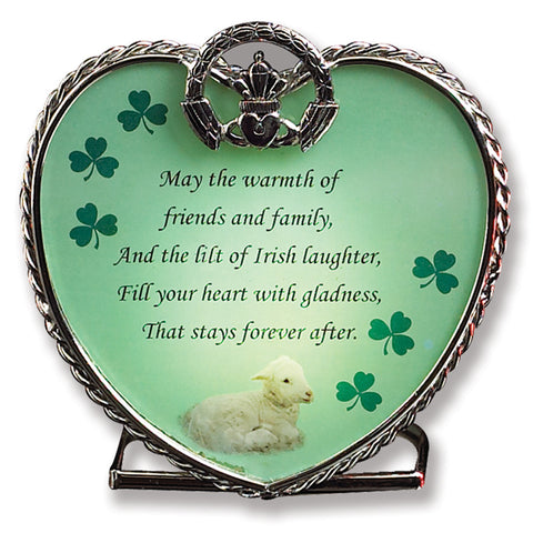 Irish Candle Holder - Irish Blessing