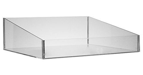 Clear Acrylic Organizer - Displayer Tray - 10x11x3.5 Inch Holder