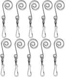 Ornament Hangers with Swivel Clasp - Set of 10