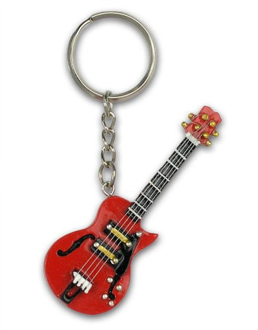 Red Guitar Ornament