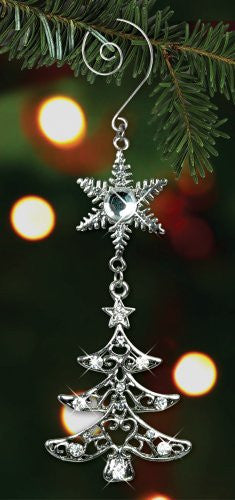 Christmas Tree Jeweled Ornament