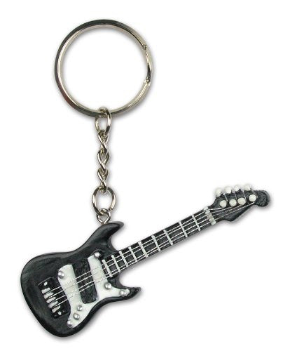 Black Guitar Ornament