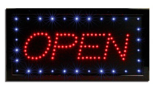 Open LED Business Sign