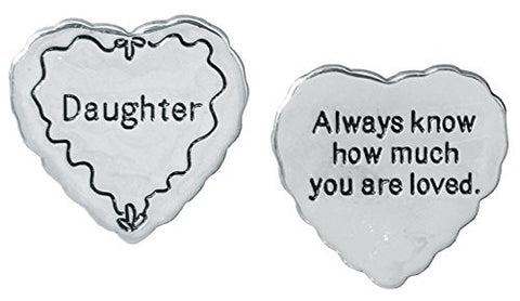 Daughter Pocket Token Charm Gift for Daughter(2036)