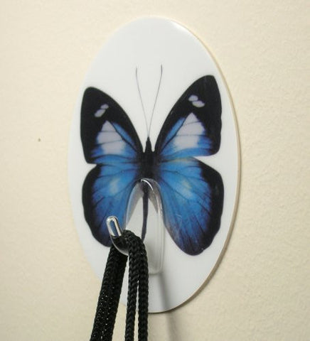 Butterfly Self Adhesive Utility Hook - Set of 2(5506)