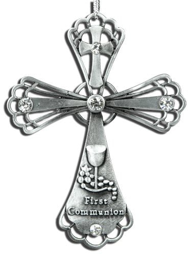 First Communion Cross with Special Message