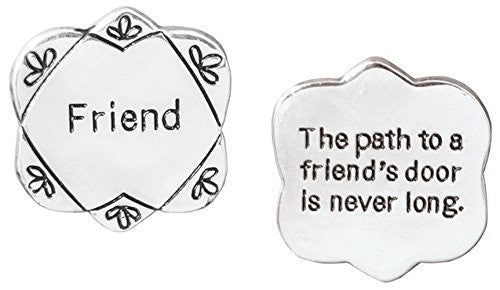 Friend Pocket Token Charm Gift for Best Friend(2042)