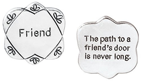 Friend Pocket Token Charm Gift for Best Friend