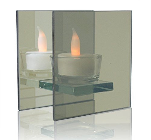 Infinity Glass Tealight Candle Holder