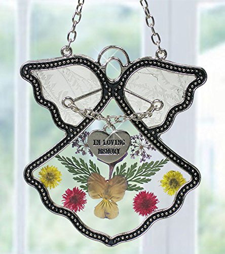 In Loving Memory Angel Suncatcher