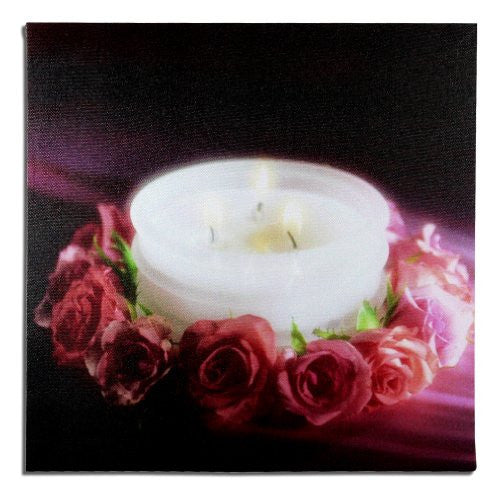 LED Rose Canvas Print