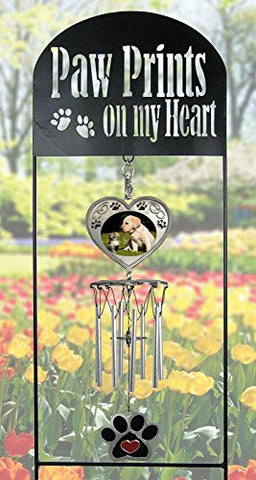 Pet Memorial Garden Stake - Pet Memorial Wind Chimes